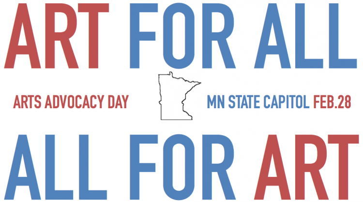 Arts Alerts: Today is Arts Advocacy Day! Can't be there? Contact your legislators.