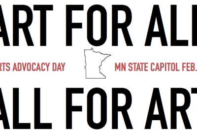 Arts Alert: Join Us for Arts Advocacy Day on February 28th!