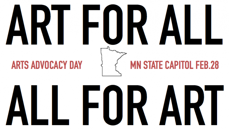 Arts Alert: Art For All – All For Art:  Arts Advocacy Day is Feb. 28