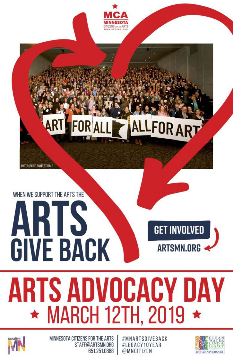 Arts Alert: Arts Advocacy Day is just Two Weeks Away! Are You Registered Yet?