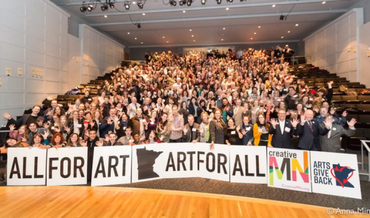 Arts Alert: Arts Advocacy Day Crowds Urge Legislators to Support Arts Funding