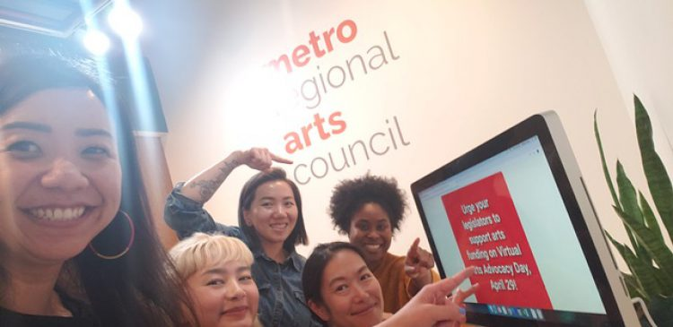 Arts Alert: Blastoff! Virtual Arts Advocacy Day is TODAY!