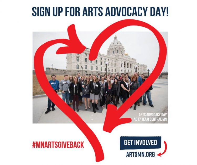 Arts Alert: Show Your Love For the Arts by Signing Up for Arts Advocacy Day Mar. 19!