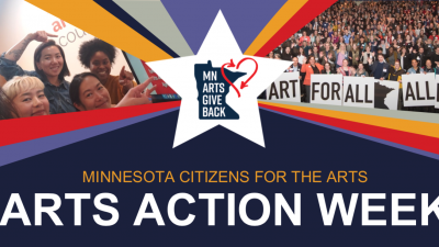 Arts Alert: RALLY Today Kicked Off Arts Action Week. Register Now and/or Contact Your Legislator